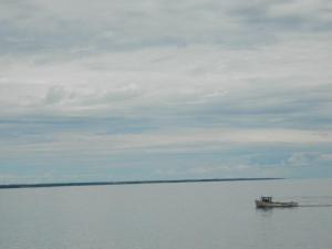 Boat on the Water in Northumberland Strait
