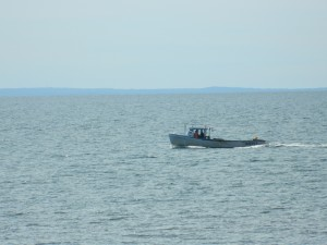 Fishing Boat in Northumberland Strait